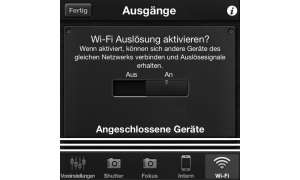 Triggertrap mit WLAN-Support