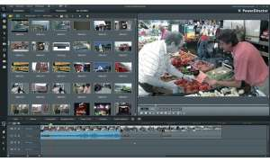 videoschnitt, software, Cyberlink PowerDirector 11