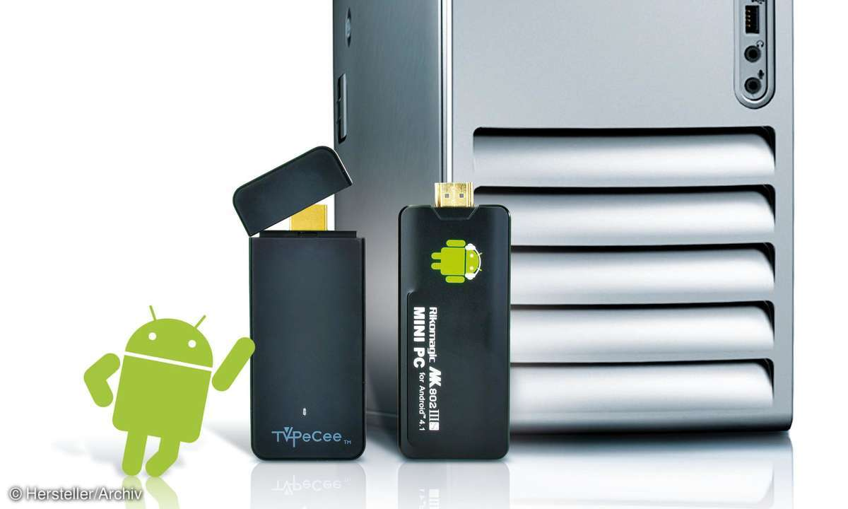 Micro-PCs mit Android