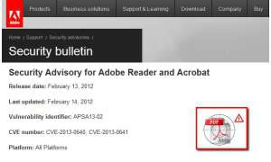 Zero-Day-Lücken im Adobe Reader