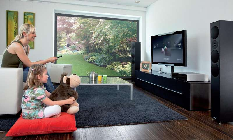 teufel sonos revox musik streaming f r zuhause pc magazin. Black Bedroom Furniture Sets. Home Design Ideas