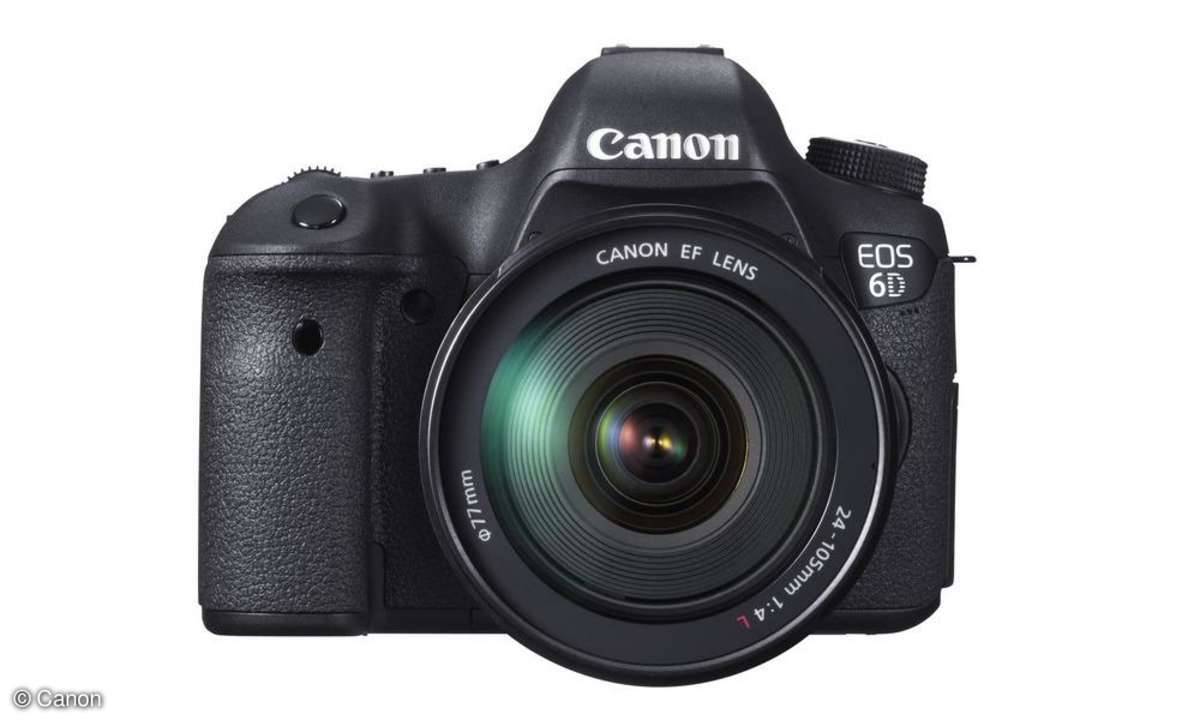 Canon EOS 6D - RAW Test Review
