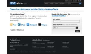 Coole Websites: rssmixer.com