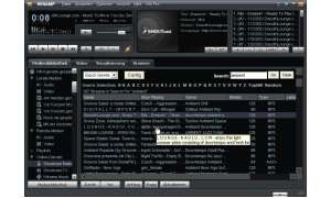 WinAmp Media Player mit MP3-Radio