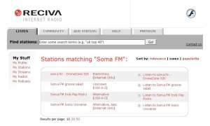 Reciva Internet Radio Portal