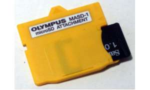 Olympus µ 1030SW -  xD-Picture-Card-Adapter