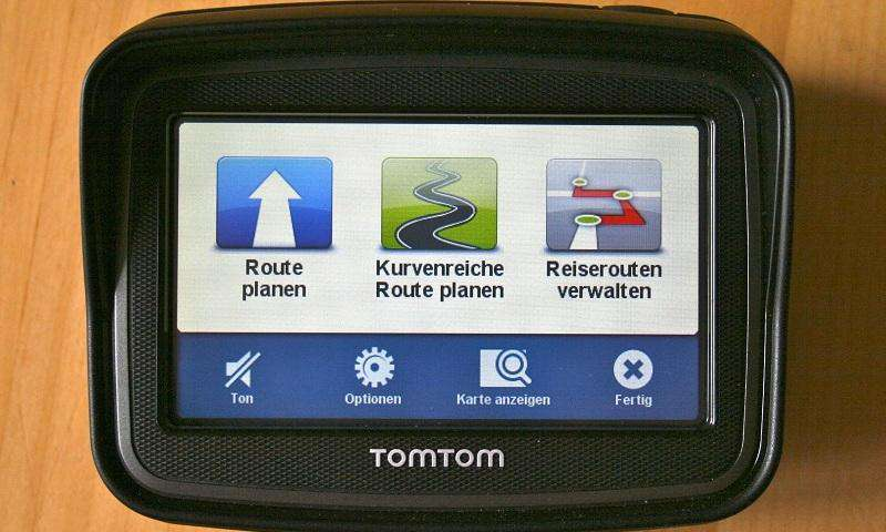 tomtom rider 4 3 39 39 im test pc magazin. Black Bedroom Furniture Sets. Home Design Ideas