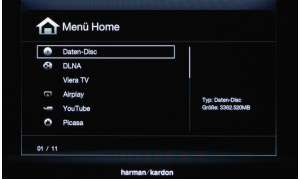Harman/Kardon BDS 877, sourround, home entertainment