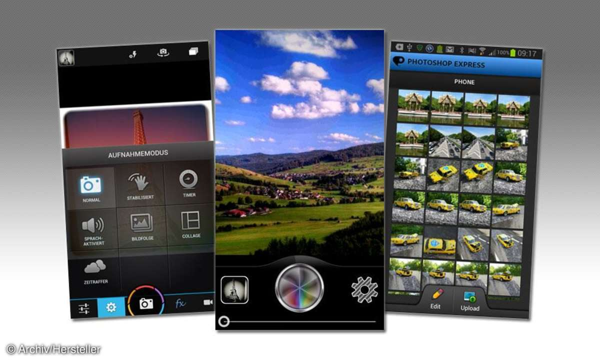Beste Foto-Apps Android