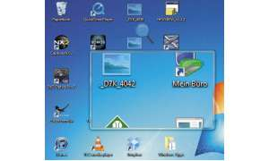 Windows 7  Windows 8 Lupe