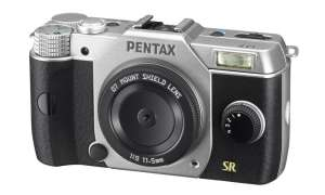 Pentax Q7 - Mount Shield Lens