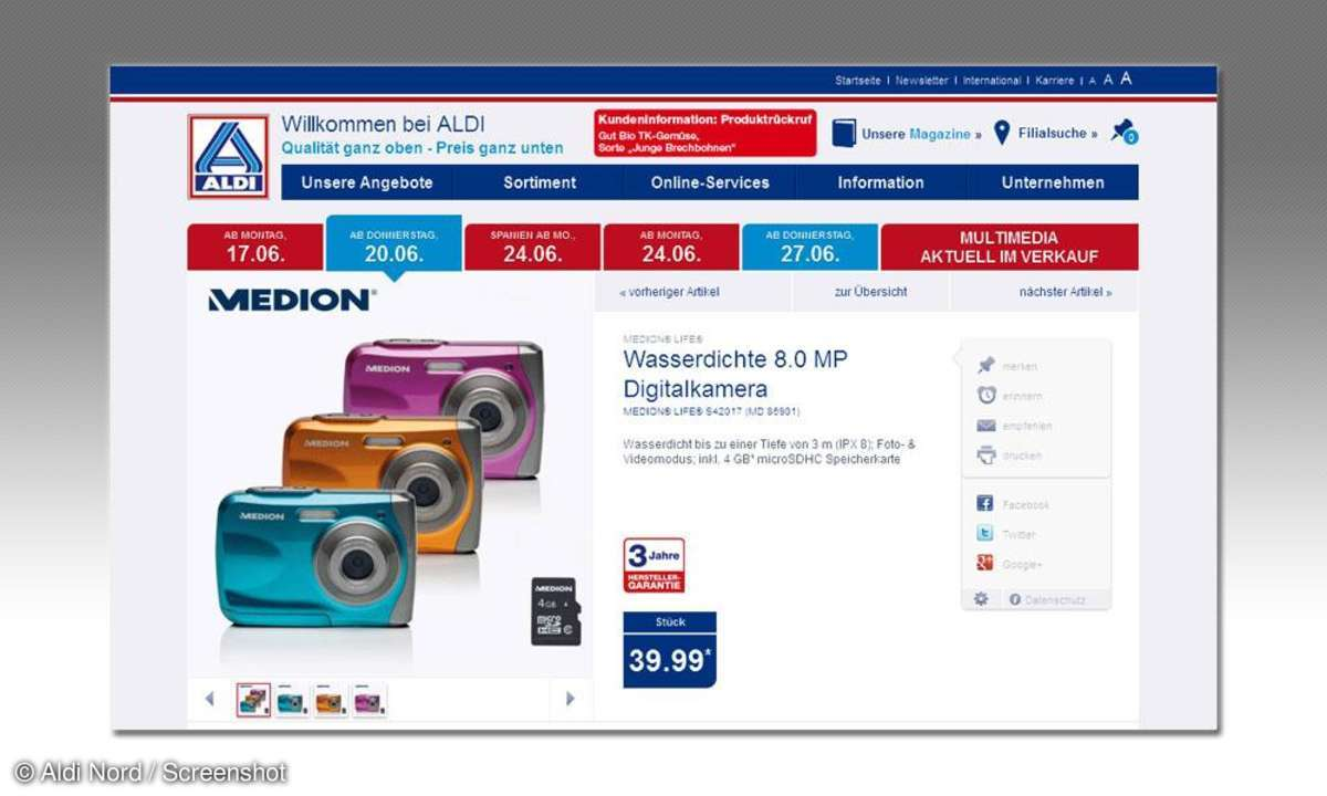 Medion Life S42017 (MD 86901) bei Aldi Nord