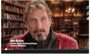 John McAfee zeigt Software-Deinstallation mal anders