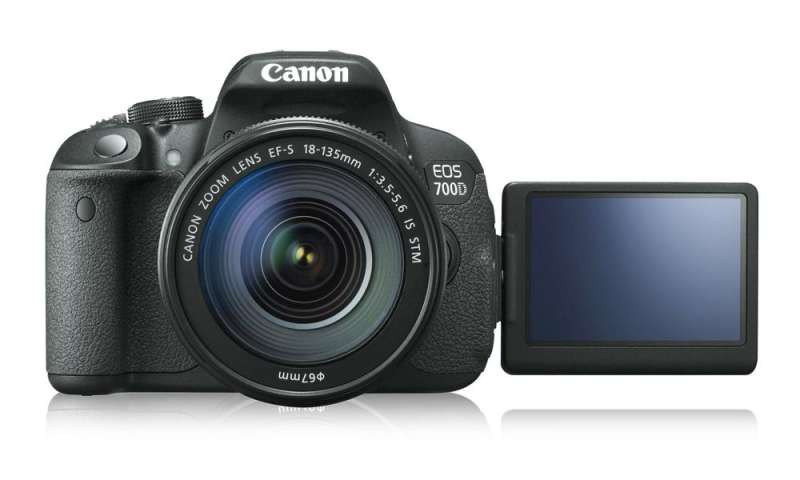 Canon EOS 700 d in the Test