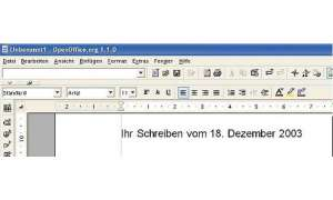 Briefvorlage mit OpenOffice