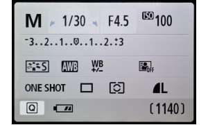 Canon EOS 700D Test - Monitor