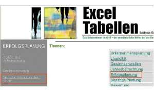 Excel Tabellen Business Edition