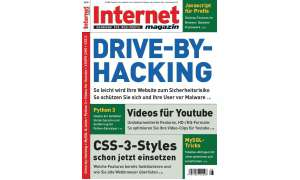 Cover Internet Magazin 8/2009