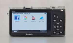 Samsung NX 300 - Social Media Upload