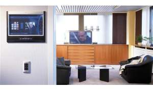 Crestron, multi-room, touchpanel, video, audio