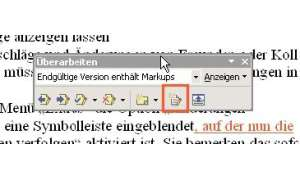 Korrekturen in Word