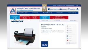 HP Deskjet 3059A 3-in-1 e-All-in-One bei Aldi Nord