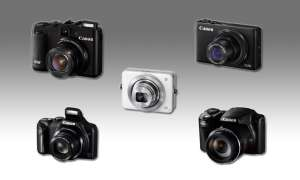 Canon Powershot G16, S120, SX510 HS und SX170 IS