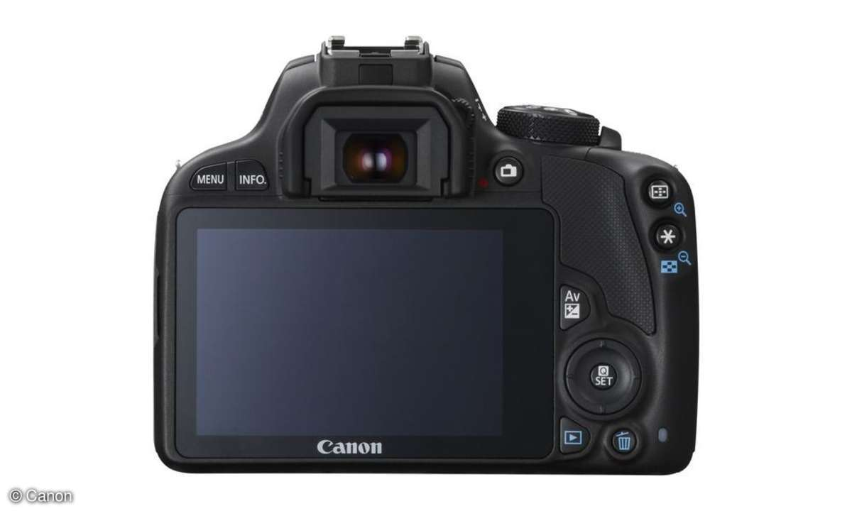 Canon EOS 100D mit 3 Zoll Display