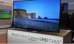 Curved UHD-LCD