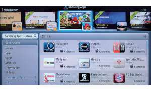 Samsung smart hub, smart-tv, home entertainment