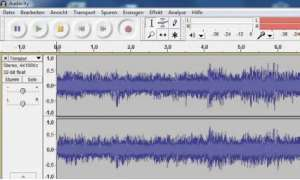 Audio-Suite Audacity, Software, Filterung