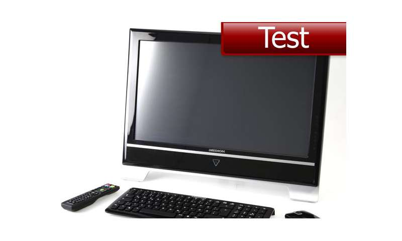 test all in one pc medion akoya p4010 d md8850 bei aldi pc magazin. Black Bedroom Furniture Sets. Home Design Ideas