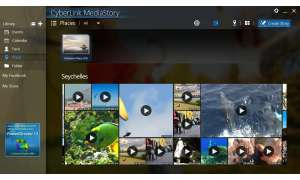 Tablet Software CyberLink MediaStory Videos