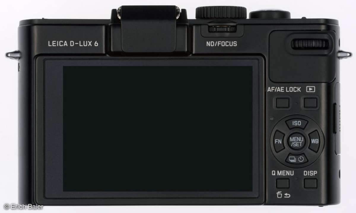Leica D-Lux 6 Monitor