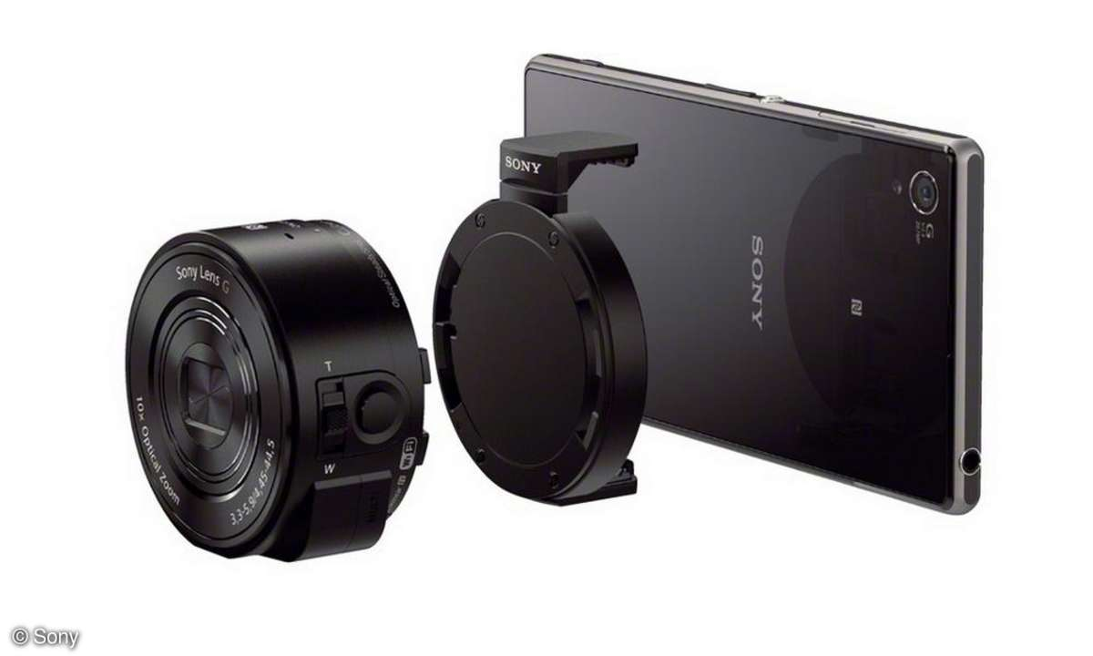 Sony QX10 Test Labor Review