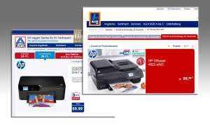 Aldi Drucker - HP Deskjet 3524 - HP Officejet 4622