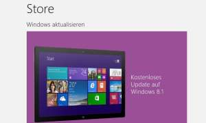 Installieren von Windows 8.1