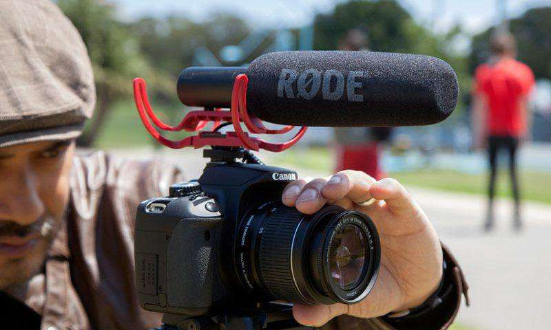 how to use rode videomic go