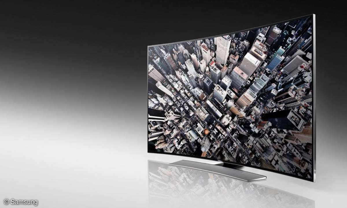 Curved UHD-TV