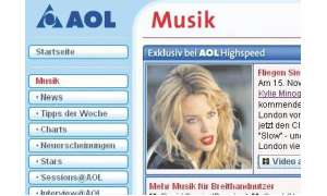 Multimedia bei AOL