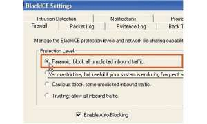 Firewall: BlackICE Defender 2.9 car