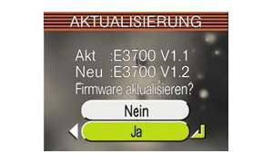 Firmware-Update für Digitalkameras