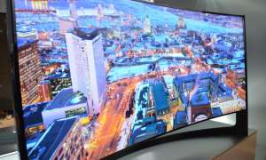 CES 2014: Curved TV