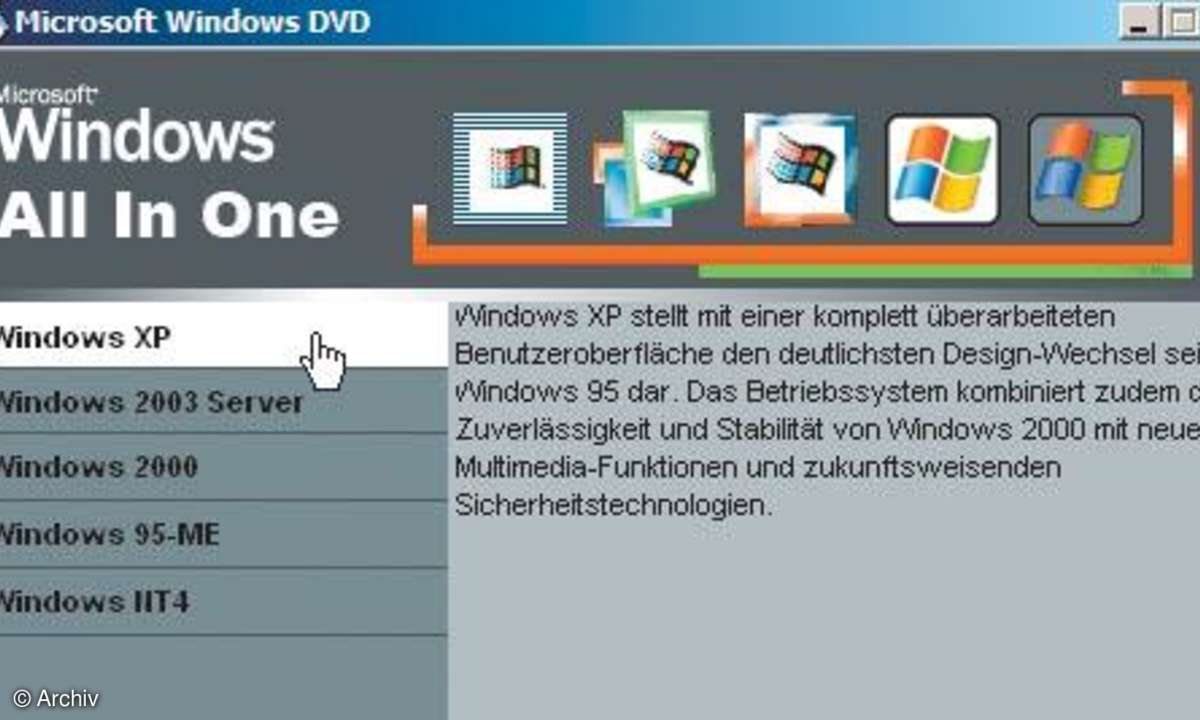 Illegale All-In-One-DVDs
