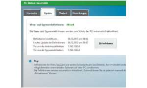 Windows Defender aktualisieren
