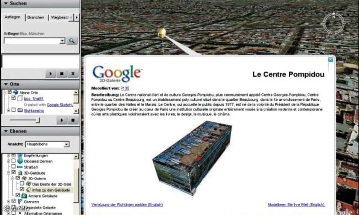 Google Earth mit Linux