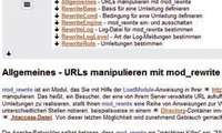 Redirect und Modrewrite