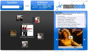 Coole Websites: musicmesh