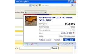Internet Explorer 8: Webslices