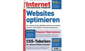 Cover Internet Magazin 6/09.
